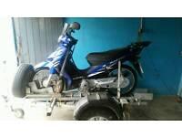 Suzuki 125 address mororbike