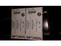 Two door cinema club tickets x 2