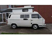 VW T25 1989 1.9 DG Petrol Water-cooled 130,000 miles Holdsworth Conversion 4 berth £8,750