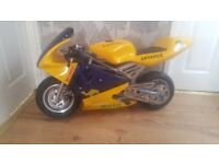 Mini moto superbike like new for sale