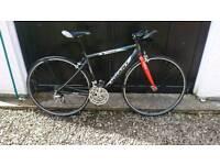 "Giant road bike 19"" with straight handlebar"