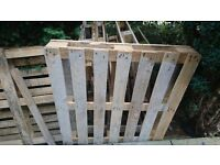 FREE WOODEN PALLETS x 8, possibly for Bonfire, or to use as pallet, or for the wood