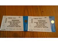 Noel Gallagher tickets x2