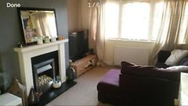 1 bed unfurnished semi detached house with back garden and double driveway