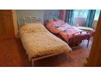 Single girls bed frame/s