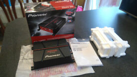 Pioneer GM-A3702 Bridgeable 2 Channel Amplifier Boxed Full Working Order £50 OVNO