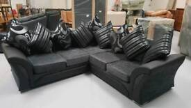 Brandnew Siena stylish corner sofas 7ft5 x 7ft5 can deliver 07808222995