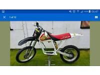 Honda xr600 frame parts