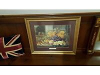 still life picture in gallery gold frame