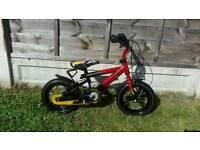 "Kids 12"" wheel bike"