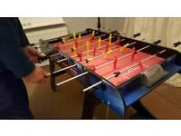 Folding football table