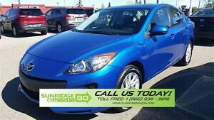 2013 Mazda MAZDA3 LOW KMS, PRICED TO SELL, HEATED SEATSM SUN