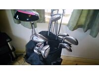 GOLF CLUBS TOLLY & BAG