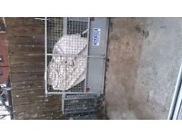 Galvanised cage for dale kane trailer 8by5