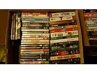 Job lot DVDs over 200 plus dvd player