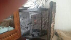 For sale a corner parrot cage cost over 100 will sell for 50