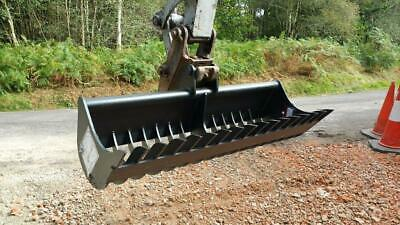 915mm 1 to 1.9ton Mini digger excavator stone rake bucket new UK manufactured