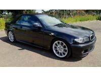 2003 BMW 325i M SPORT CONVERTIBLE BLACK AUTO - NEWER FACELIFTED MODEL - PART EXCHANGE WELCOME