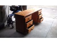Solid Pine Dressing table.