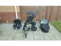Quinny Buzz 3 in 1 Travel System in Black