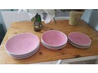 """Marks and Spencers """"Andante pastels"""" tableware"""
