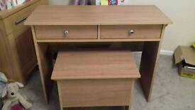 New dressing table and stool