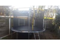 12 Ft Trampoline For SALE!