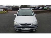 Vauxhall Zafira 1.8 2003 7 Seater in good condition drives well long mot