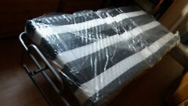 folding guest bed, very good condition, used once