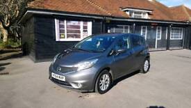 Nissan Note 1.2 Acenta - low milage, Bluetooth, cruise control, vgc