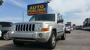 JEEP COMMANDER 2008 /  AC/ CUIR/ TOIT OUVRANT