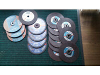 "A Selection of 9"" Grinding / Cutting Discs"