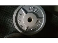 100KGS OF OLYMPIC PLATES