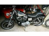 Harley davidson 1200 buell 1996 on a q plate