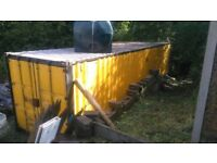 40ft x 8ft Steel shipping container