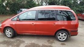 Seat ALHAMBRA 1.9 Tdi Auto 115 bhp Wheelchair Adapted Disability Mobility Scooter conversion