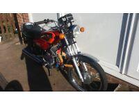 yamaha xrs 100 classic rare as chicken teeth 12 months mot awsome bike