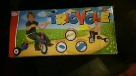 Tricycle boys/girls 3yrs+ brand new