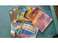 Text books GCSE / A Levels - Job lot