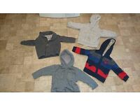 Baby Boy Clothes / 18 - 24 months / 4 Jackets /Next, Junior J, Mothercare