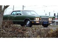 Wedding car - Mercury Marquis Brougham 1972 - American Classic Car - Northamptonshire +