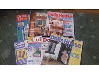 Bundle of Dolls House Magazines