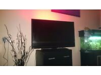 42 inch smart tv with multi led light strip
