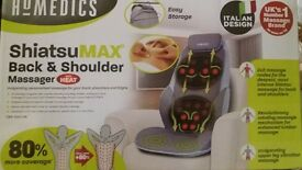 Homedics shiatsumax back & shoulder chair massager