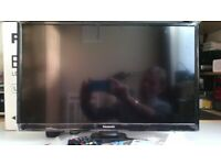 for sale a Panasonic seriese300 24inch led television.as new not used g w o.
