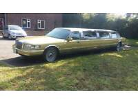 Limo Service only gold limo