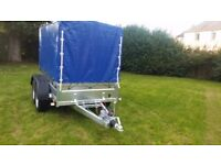 New trailer 8.7 x 4.2 with cover braked trailer 2700kg £ 1950 INC VAT