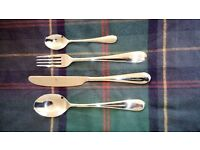 Mepra Natura 24 piece luxury 18/10 Stainless steel cutlery set (New)