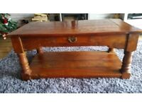 Solid Wood Coffee Table in excellent condition