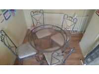 Kitchen/dinning room table and chaira